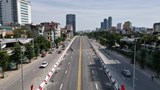 Toàn cảnh cầu vượt 560 tỷ đồng ở Hà Nội trước ngày thông xe