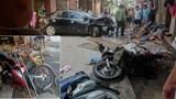 Hà Nội: Xe điên tông liên hoàn khiến 3 người thương nặng
