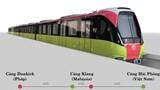 Đoàn tàu đầu tiên tuyến metro Nhổn - Ga Hà Nội bắt đầu hành trình về Việt Nam
