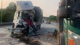 Xe tải đâm nhau trên cao tốc Nội Bài - Lào Cai, tài xế tử vong tại chỗ