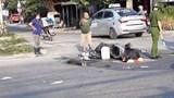 Hà Nội: Truy tìm xe bồn nghi tông thương vong 2 người đi xe máy trên đường Ngọc Hồi