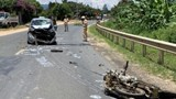 Người đàn ông 50 tuổi tử vong sau va chạm ô tô ở Đắk Lắk