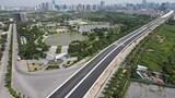 Đường trên cao kết nối đến cầu Thăng Long