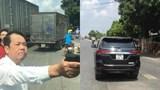 Bắt khẩn cấp giám đốc rút súng dọa bắn tài xế xe tải ở Bắc Ninh