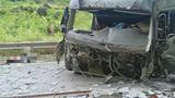 Tông vào vách tránh ven đường, tài xế cùng phụ xe tử vong tại chỗ