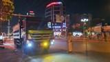 Hà Đông mạnh tay xử lý xe tải vào phố cấm