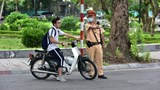 Hà Nội: Ra quân xử lý học sinh, sinh viên vi phạm luật giao thông