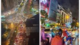 """Giao thông Hà Nội hỗn loạn, """"không lối thoát"""" trong cơn mưa chiều 22/9"""