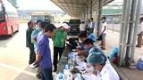 Phát hiện 2 lái xe dương tính với ma túy tại Bến xe Yên Nghĩa