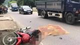 Va chạm với xe tải trên QL21, người phụ nữ tử vong thương tâm