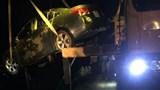 Ô tô 4 chỗ lao xuống hồ, 1 người chết ngạt, 1 người bị thương