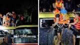 Hơn 2 giờ nghẹt thở giải cứu 18 người trong xe khách bị lũ cuốn trôi lúc nửa đêm
