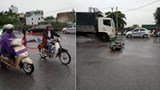Hà Nội: 2 xe máy đối đầu, tài xế GrabBike tử vong