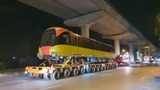 [Video] Hành trình đoàn tàu đầu tiên tuyến đường sắt đô thị Nhổn - Ga Hà Nội về Depot