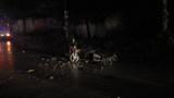 Hai xe máy tông nhau trong đêm, 2 người thương vong
