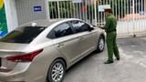 Xử lý nghiêm xe ô tô án ngữ cổng trường Mầm non Ánh Sao