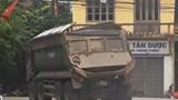 Người dân Quốc Oai bất an vì xe quá tải