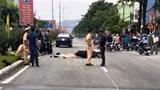 Đâm thẳng ô tô đi cùng chiều, tài xế xe máy tử vong tại chỗ