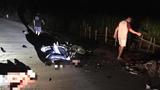 Tai nạn xe máy trong đêm khiến 2 thanh niên tử vong, 2 người đi cấp cứu