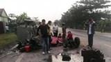 Xe tải đâm công nông khiến 1 người tử vong