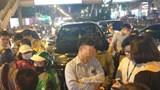 Hà Nội: Tài xế say xỉn, xe Fortuner tông liên hoàn 3 ô tô, 4 xe máy trên phố Giảng Võ