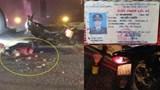 Một công an tử vong thương tâm sau va chạm với xe đầu kéo