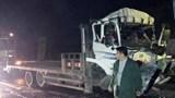 Tai nạn giao thông mới nhất hôm nay 2/12: Xe tải đâm xe đầu kéo trên cao tốc, 2 người tử vong