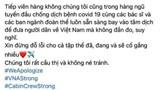 Sau Vietnam Airlines, hàng loạt tiếp viên của hãng treo hashtag xin lỗi