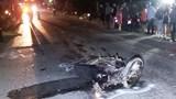 2 xe máy đấu đầu khiến 2 người chết tại chỗ, 1 người đang nguy kịch