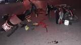 2 tài xế xe máy nguy kịch sau cú đấu đầu kinh hoàng trong đêm