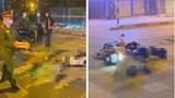 Hà Nội: 2 thanh niên đi xe máy tử vong ở ngã tư Minh Khai - Đại La lúc rạng sáng