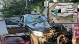 Lái ô tô đụng chết Grabike, trọng thương tiếp viên Vietnam Airlines khi đang phê ma túy?
