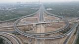 Nút giao Vành đai 3 với cao tốc Hà Nội - Hải Phòng vượt tiến độ 2 tháng