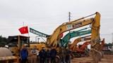 Hoài Đức: Khởi công dự án đường Liên khu vực 1