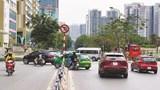 [Điểm nóng giao thông] Nhiều phương tiện quay đầu nơi có biển cấm