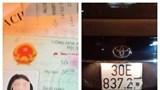 Hà Nội: Xử phạt 40 triệu đồng với nữ tài xế say ngất ngưởng lái ô tô trên phố