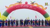 Chính thức thông xe cầu Thăng Long