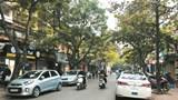 [Điểm nóng giao thông] Ô tô chiếm dụng lòng đường phố Quỳnh Mai