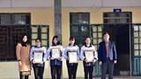 """Trường THPT Tân Dân nhận 13 giải vòng cuộc thi """"Vì An toàn giao thông Thủ đô"""" năm 2020"""