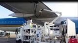 Tự ý lái xe đầu kéo gây va chạm tại khu vực đỗ tàu bay sân bay quốc tế Nội Bài