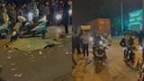 Sóc Sơn: Va chạm với xe container, người điều khiển mô tô tử vong