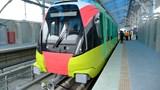 Cận cảnh đoàn tàu đầu tiên tuyến đường sắt đô thị Nhổn - Ga Hà Nội chính thức lăn bánh