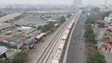 Đoàn tàu đầu tiên tuyến đường sắt đô thị số 3, đoạn Nhổn - Ga Hà Nội chính thức lăn bánh