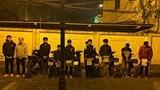 Thị xã Sơn Tây: Bắt 10 thanh thiếu niên nẹt pô, bốc đầu, gây rối trật tự trong đêm