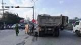 Xe tải va chạm với xe đạp điện, một học sinh lớp 9 tử vong thương tâm