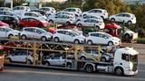 Lượng ô tô nhập khẩu giảm mạnh
