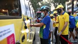 TP Hồ Chí Minh: Xe bus phát khẩu trang tự động, miễn phí cho người dân