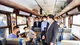 Hà Nội: Nhà ga, bến xe thực hiện tốt quy định phòng, chống dịch trong cao điểm Tết