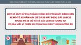[Infographic] Mức phạt người điều khiển xe máy vi phạm khi tham gia giao thông