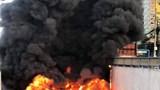 TP Hồ Chí Minh: Cháy xe buýt tại hầm chui An Sương